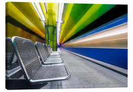 Lienzo  Candidplatz subway station in Munich - Dieter Meyrl