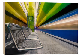 Madera  Candidplatz subway station in Munich - Dieter Meyrl