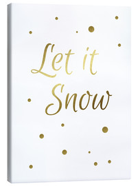 Lienzo  Let it Snow - Finlay and Noa
