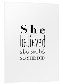 Forex  She Believed She Could So She Did - creía que podía hacerlo y lo hizo - Finlay and Noa