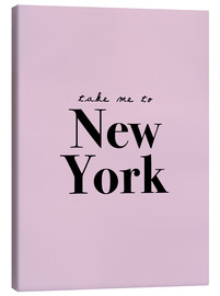 Lienzo  Take Me To New York (inglés) - Finlay and Noa