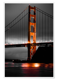 Póster  Golden Gate - Denis Feiner