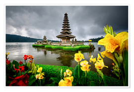 Póster Bali Temple