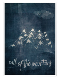 Póster call of the mountains
