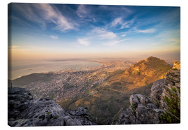 Lienzo  Table Mountain View - Salvadori Chiara