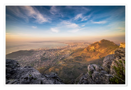 Póster  Table Mountain View - Salvadori Chiara