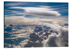 Aluminio-Dibond  Riding clouds - Denis Feiner