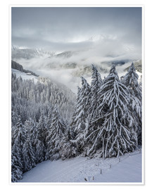 Póster  Winter in Valle Aurina (South Tyrol, Italy) - Christian Müringer