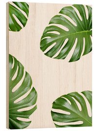 Madera  Ataque de la monstera - Finlay and Noa