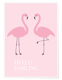 Póster Hello Darling Flamenco