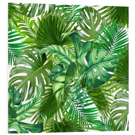 Cuadro de PVC  new tropic life - Mark Ashkenazi