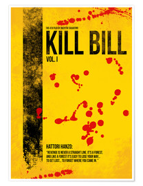 Póster  Kill Bill Vol. I - HDMI2K