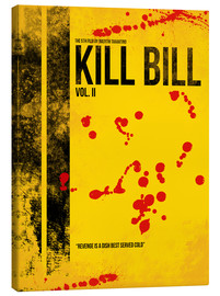 Lienzo  Kill Bill 2 - Tarantino Minimal Film Movie Alternative - HDMI2K