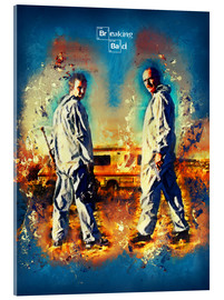 Cuadro de metacrilato  Breaking Bad - Walter White Series Show Alternative - HDMI2K