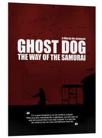 Cuadro de PVC  Ghost Dog - Minimal Movie Film Cult Alternative - HDMI2K