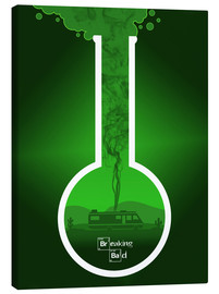 Lienzo  Breaking Bad - Fanart version in green Alternative - HDMI2K