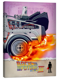 Lienzo  Back to the Future - Minimal Movie - Part 3 of 3 Alternative - HDMI2K
