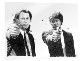 Cuadro de metacrilato  Pulp Fiction - Cultscenes