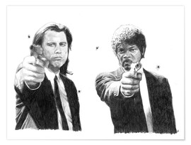 Póster  Pulp Fiction - Cultscenes