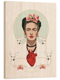 Madera  Frida Kahlo (Light) - Anna McKay