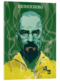 Cuadro de metacrilato  Heisenberg, Breaking bad - 2ToastDesign