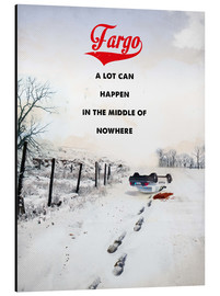 2ToastDesign - alternative fargo retro movie poster