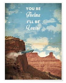 Póster Thelma y Louise