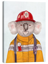 Lienzo  Koala Firefighter - Animal Crew