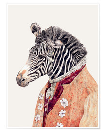 Póster  Zebra - Animal Crew