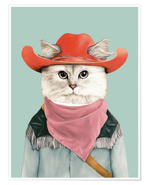 Póster Rodeo Cat