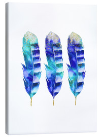 Lienzo  blue feather - Andrea Haase