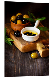 Metacrilato  Green and black olives