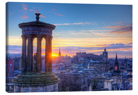 Lienzo  Scotland Edinburgh - Calton Hill