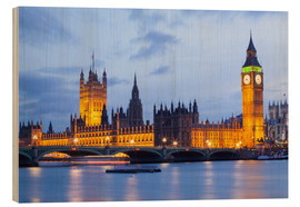 Madera  Big Ben and Westminster Bridge in London