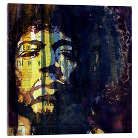 Cuadro de metacrilato  Jimmy Hendrix - Paul Lovering Arts