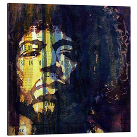 Cuadro de aluminio  Jimmy Hendrix - Paul Lovering