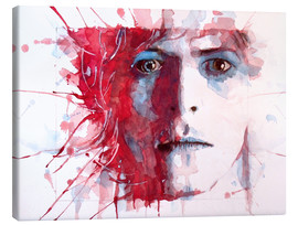 Lienzo  La estrella más guapa, David Bowie - Paul Lovering Arts