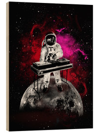 Madera  alternative space astronaut dj art poster - 2ToastDesign