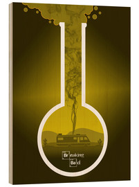 Madera  Breaking Bad - Fanart production version in yellow alternative - HDMI2K