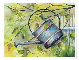 Póster WATERING CAN