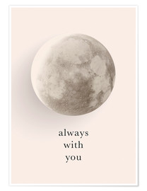 Póster  Always with you - Amy and Kurt Berlin