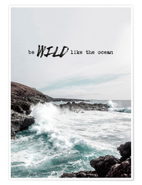 Póster  Wild like the ocean - Amy and Kurt