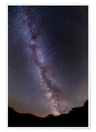 Póster  The summer Milky Way in southern Alberta, Canada. - Alan Dyer