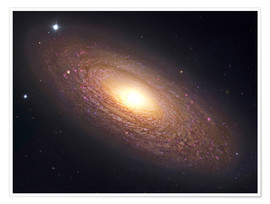 Póster  NGC 2841, spiral galaxy in Ursa Major. - Robert Gendler