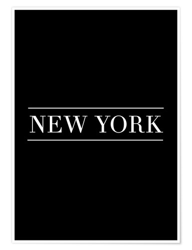 Póster NEW YORK | HORIZONTAL