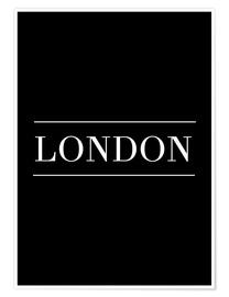 Póster  LONDON | HORIZONTAL - Stephanie Wünsche