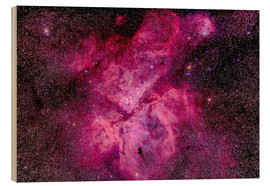 Cuadro de madera  The Carina Nebula in the southern sky - Alan Dyer