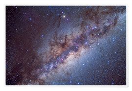 Póster  The center of the Milky Way through Sagittarius and Scorpius. - Alan Dyer