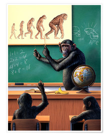 Póster  Evolution - Jerry LoFaro