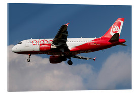 Cuadro de metacrilato  Airbus A320 of Air Berlin - Luca Nicolotti